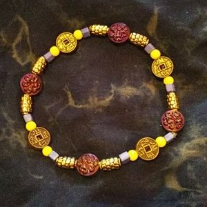 kelsi m(yself) Jewelry - *Just Made!*3* Purple/gold/+third eyes